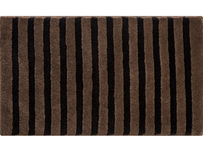 Bathroom Rugs KRAKONOS, Black Brown ...