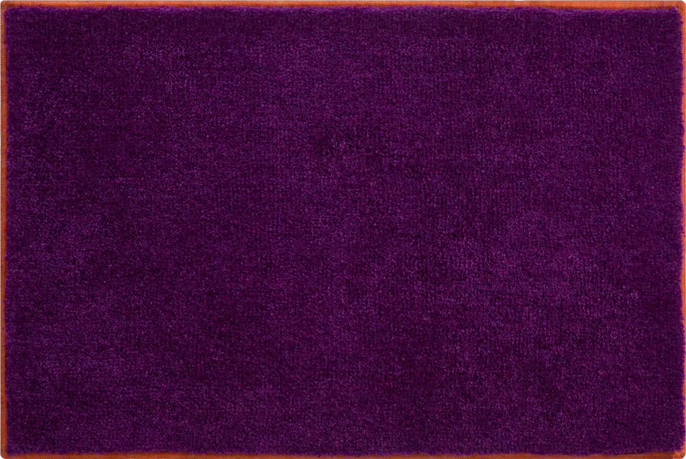 Bathroom rugs     SOTO,             purple-papaya