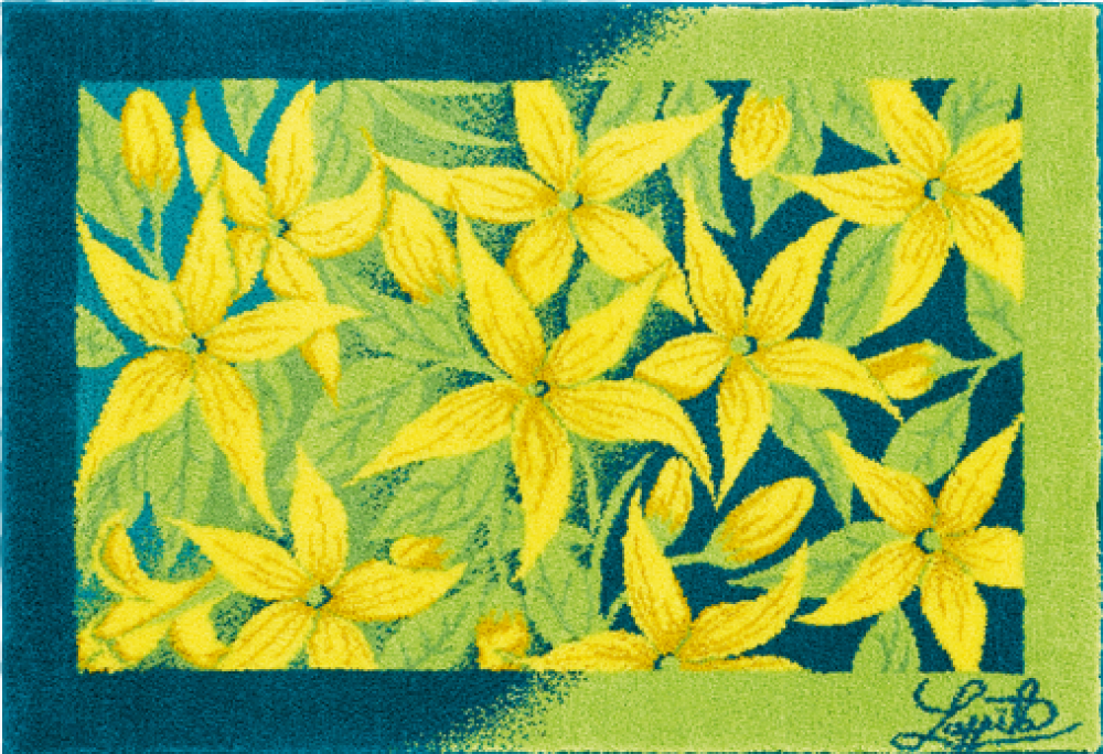 Bathroom rugs     JASMINE,             yellow