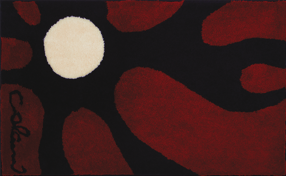 Bathroom rugs     COLANI 12,             red