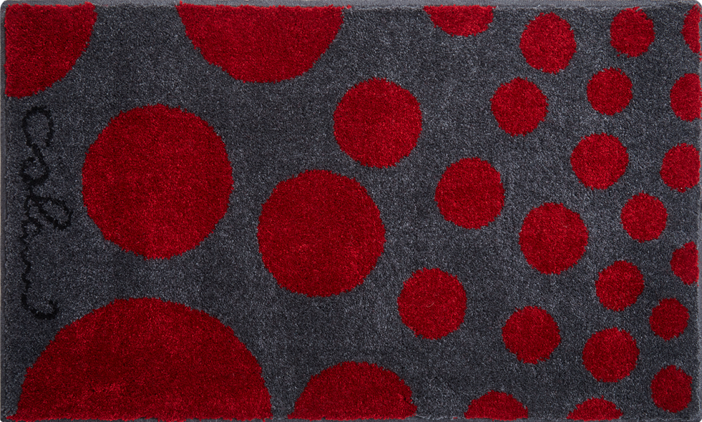 Bathroom rugs     COLANI 16,             red
