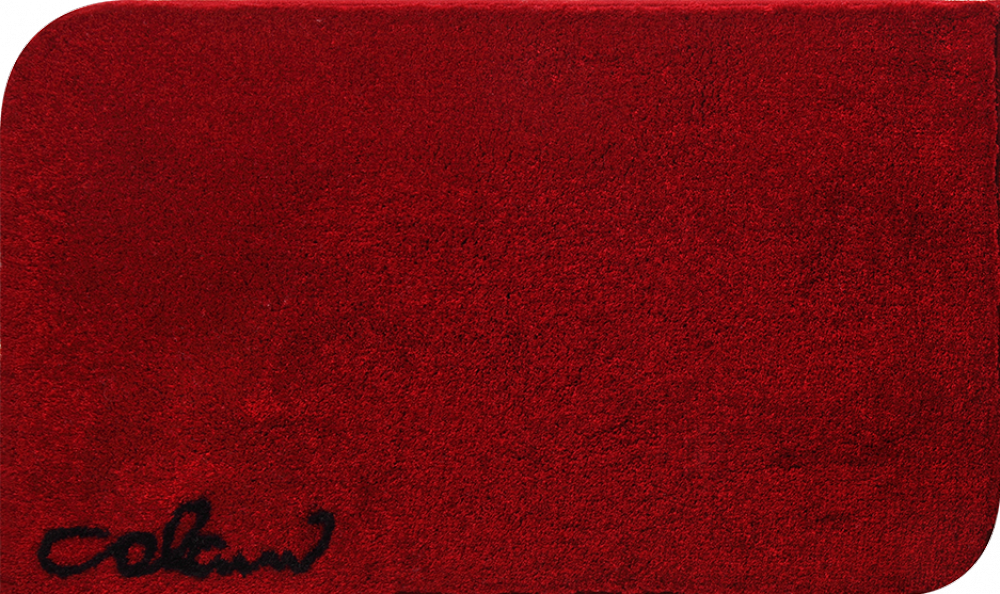Bathroom rugs     COLANI 40,             red
