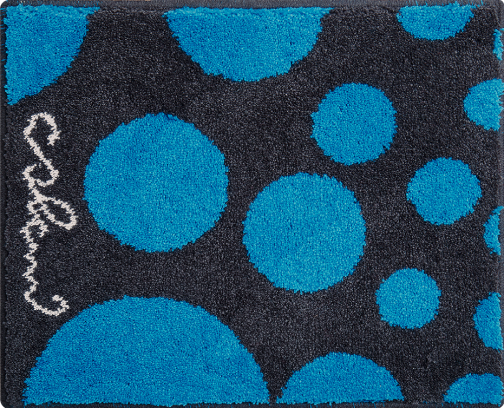Bathroom rugs     COLANI 16,             blue