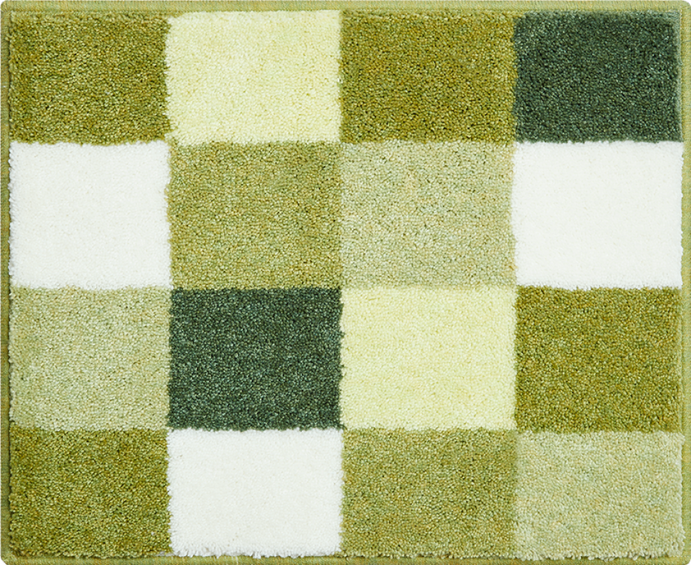 Bathroom rugs     BONA,             green