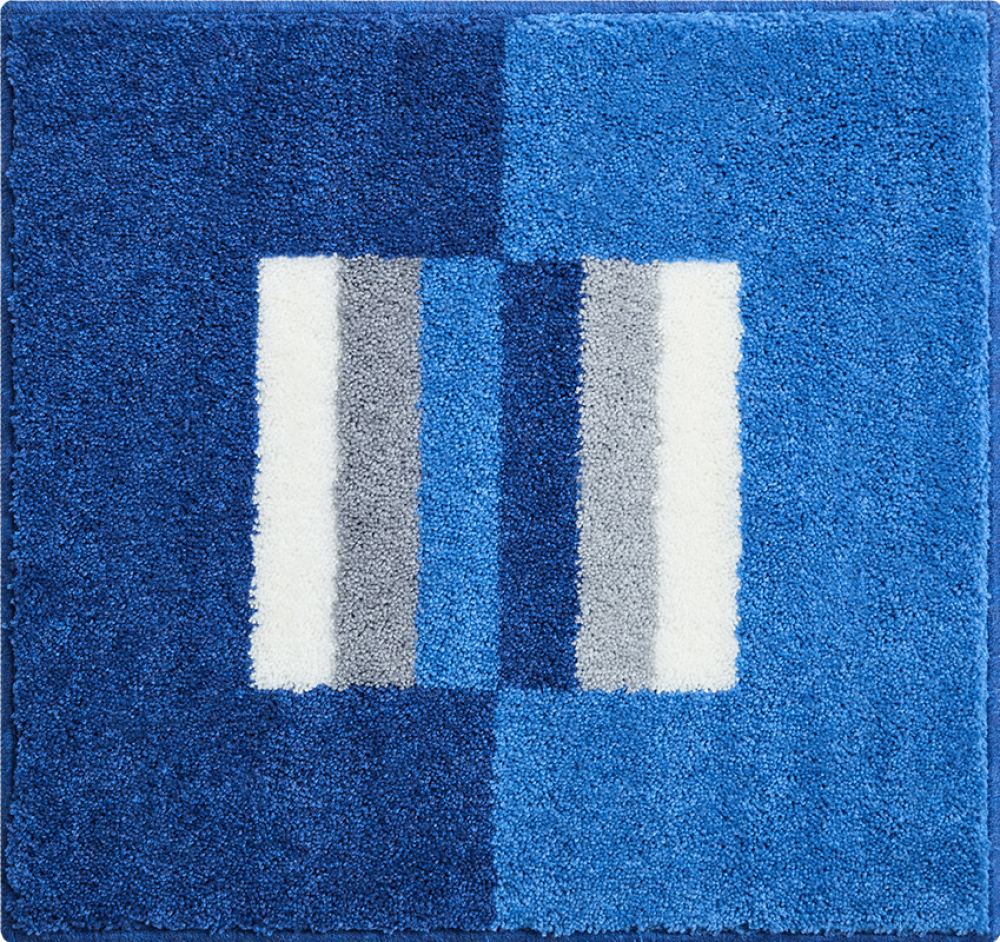 Bathroom rugs     CAPRICIO,             blue