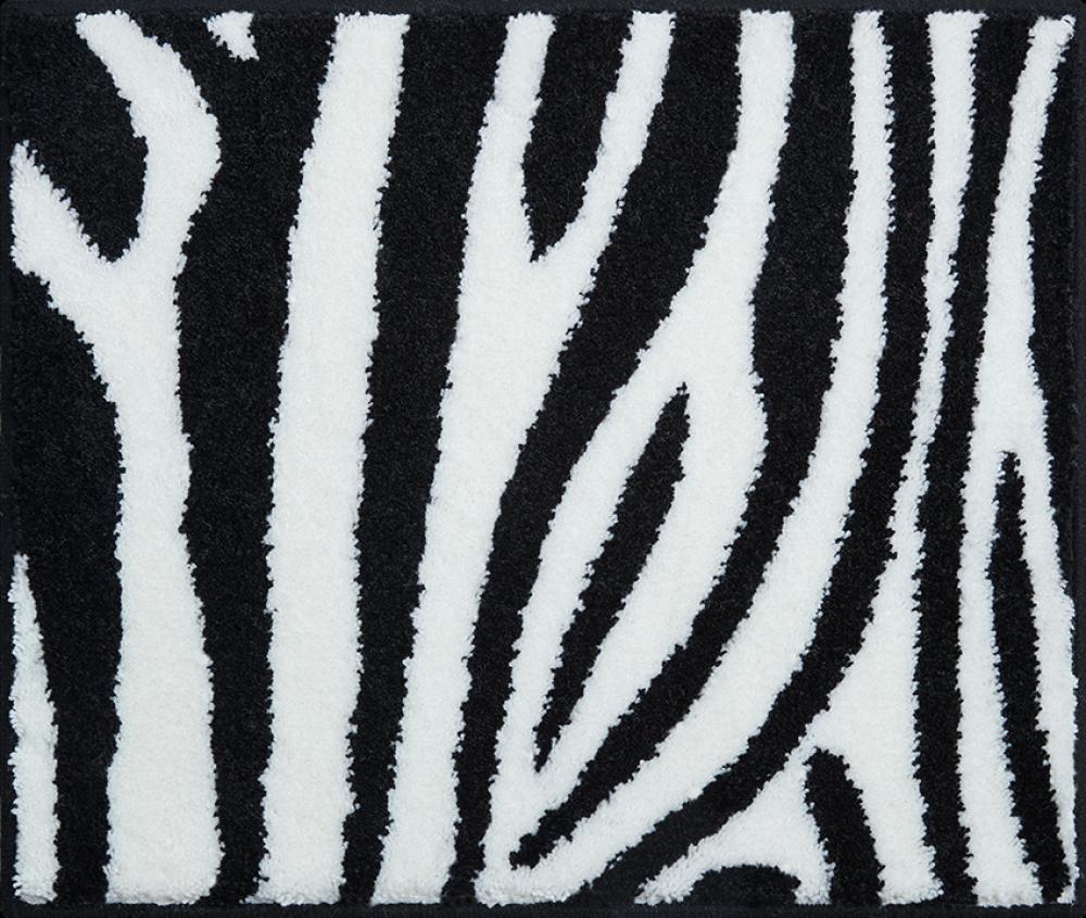 Bathroom Rugs Zebra Black Amp Amp White 50x60cm Grund