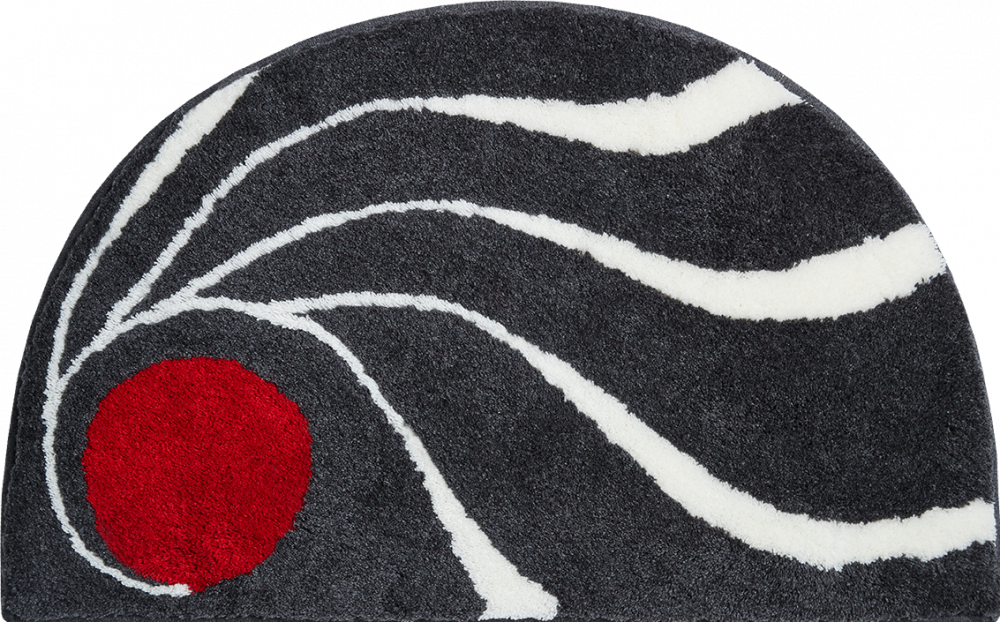 Bathroom rugs     COLANI 18,             anthracite