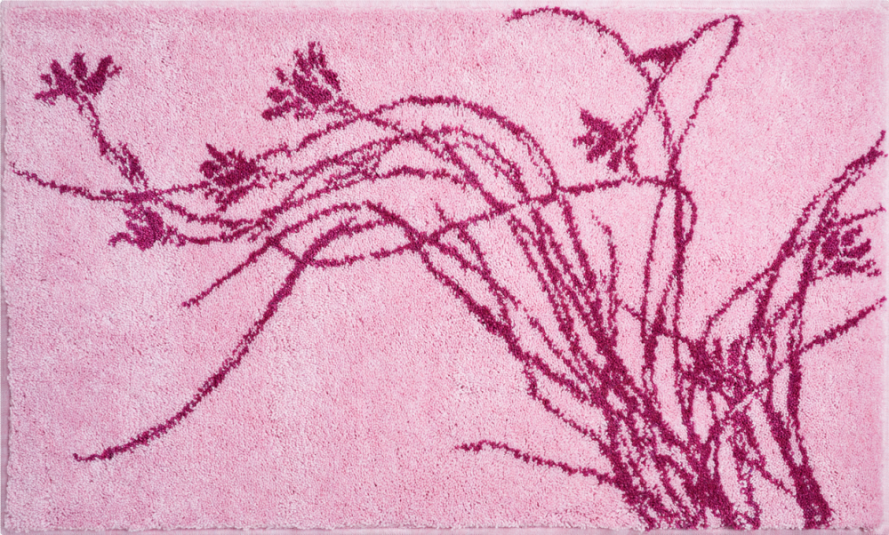 Bathroom rugs     LILY,             pink