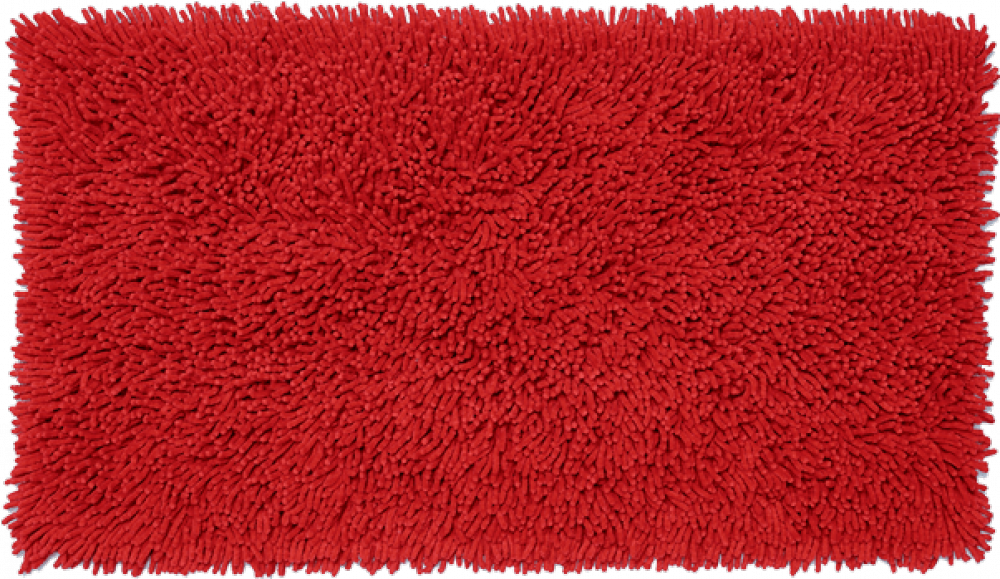 Bathroom rugs     CORALL,             red