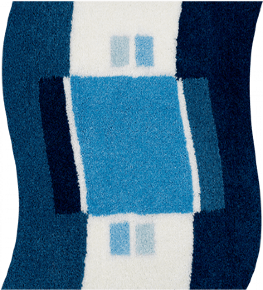 Bathroom rugs     LUGANO,             blue