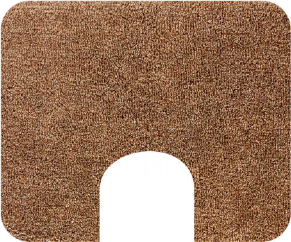 Brown bathroom rugs organize it home office garage for Bathroom carpet png