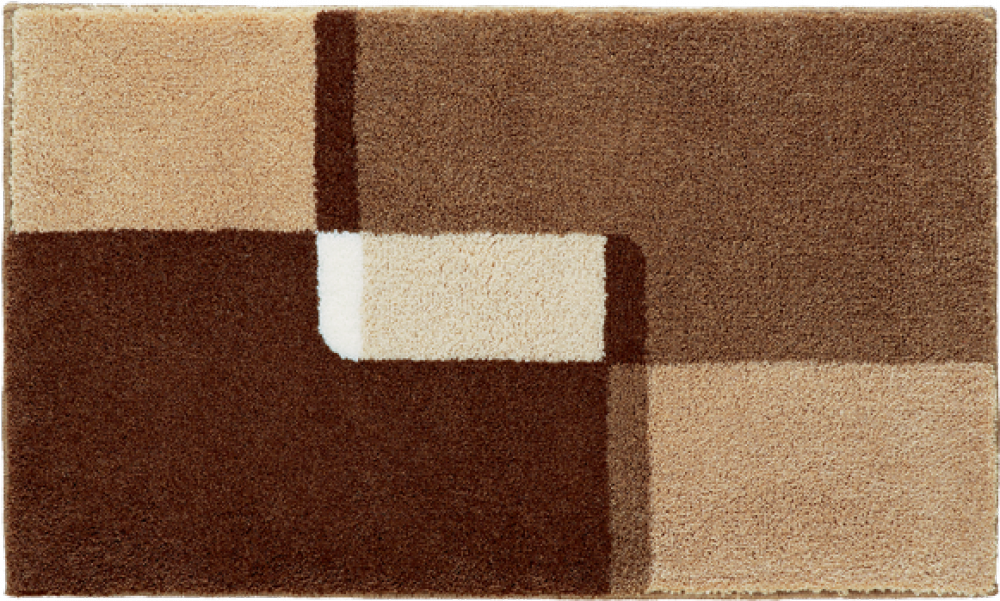 Bathroom rugs     NAXOS,             brown
