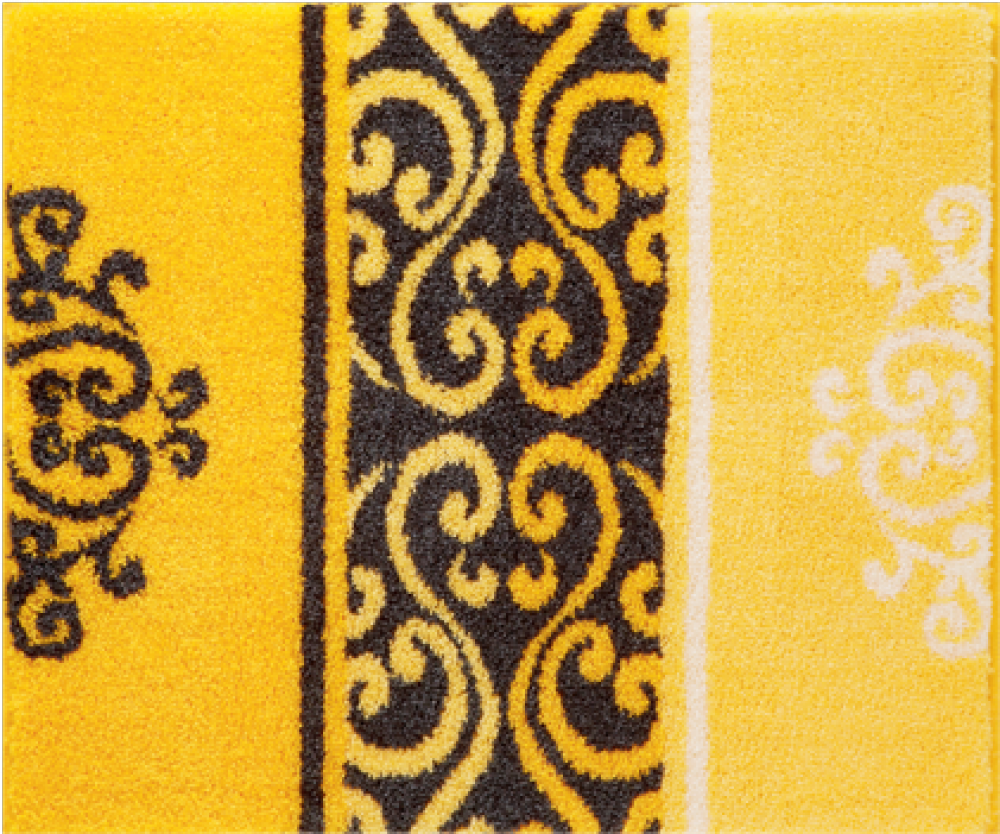 Bathroom rugs     MODICA,             yellow