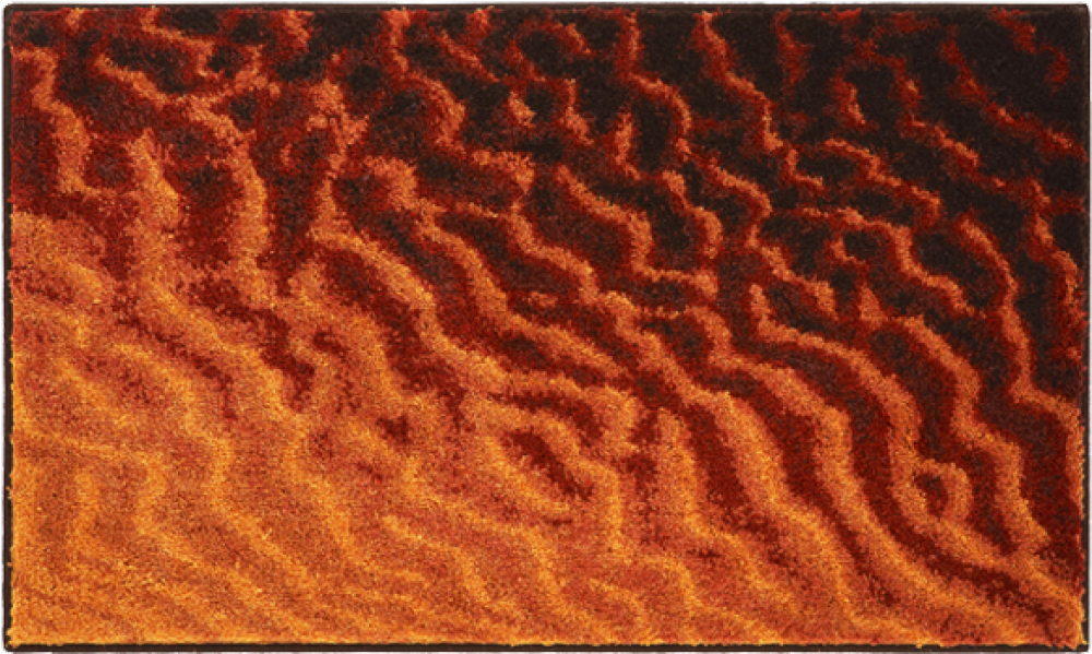 Bathroom rugs     SAND,             orange