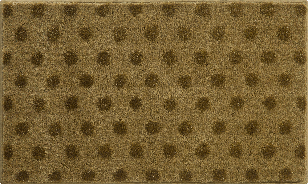 Bathroom rugs     BINDU,             walnut-gold